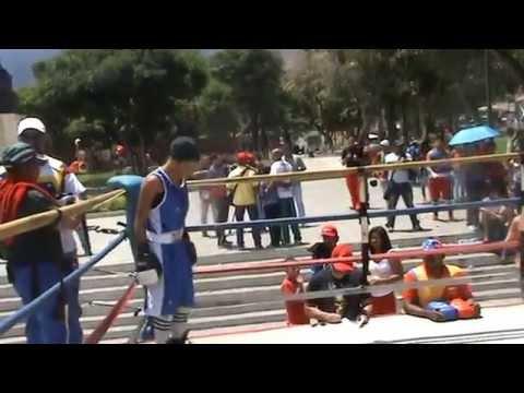 """Escuela de boxeo """"Diego Santana"""", Plaza Andres Bello"""