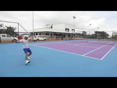 JUAN DIEGO RUIZ PARRA PRE SEASON TRAINING VIDEO FULL TENNIS ACADEMY IN BUCARAMANGA COLOMBIA.